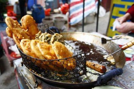八市海蛎饼
