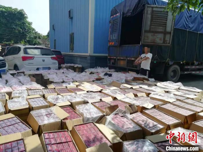 广西防城港警方破获特大烟草走私案抓获8名嫌疑人