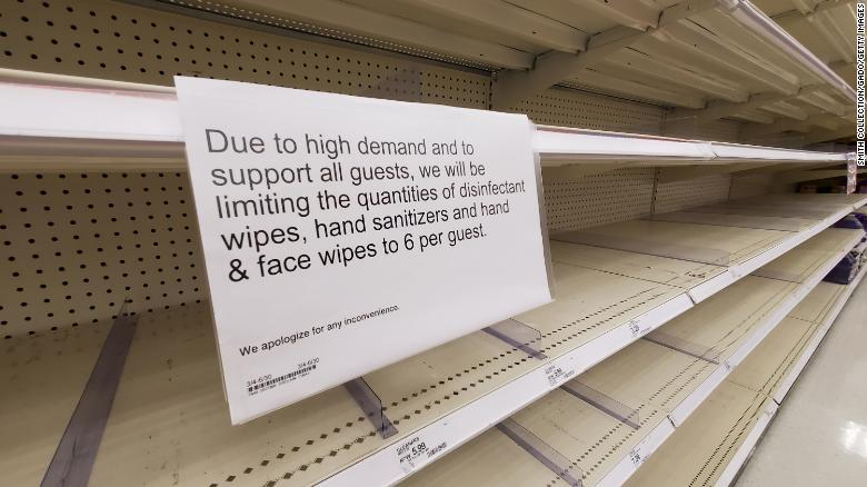 疫情下美国超市热门商品是什么?媒体梳理购物走势