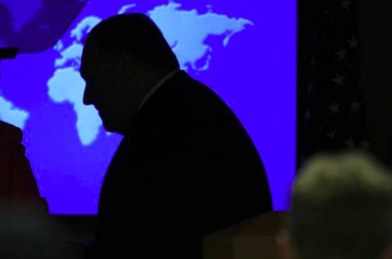 """体彩外围网站-有猫腻?美国务院举报人揭发蓬佩奥从事""""可疑活动""""被阻止"""
