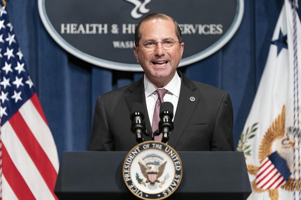 起底 起底丨美卫生部长亚历克斯·阿扎:不顾疫情 只为政治生涯铺路