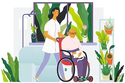 指导意见 科技加持让搬回家的养老床位更舒适