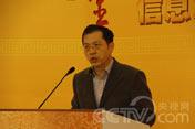 中央电视台新闻中心副主任<br>梁建增演讲