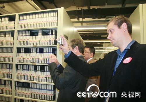 国际电视资料联合会北京年会代表参观央视及央视音像资料馆等地(组图) - 架阁郎 - 架阁郎的博客