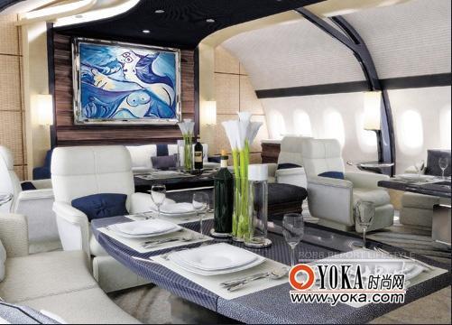豪华私人飞机