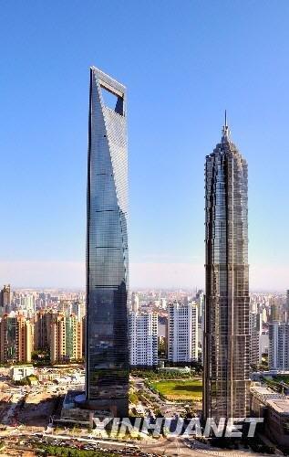 421米的金茂大厦成为我国大陆目前最高的在用建筑