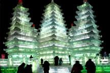 Harbin Ice and Snow World opens to tourists