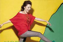 Glittering Vivian Hsu on magazine cover