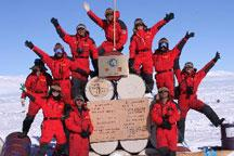 Chinese Antarctica expedition team finishes S Pole trip