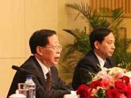 Началось коллективное интервью с участием руководителей Министерства сельского хозяйства КНР