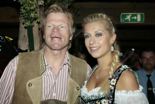 Oliver Kahn and his ex-wife Simone (Photo Source: bbs.huanqiu.com)