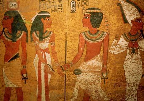 古埃及人相信灵魂不灭