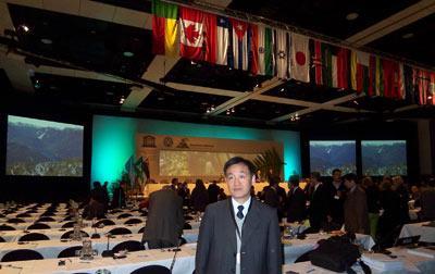 参加2007年在新西兰召开的第31届世遗会