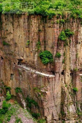 The Hidden Village of Guoliang in Henan Province (Photo: xinhuanet.com)