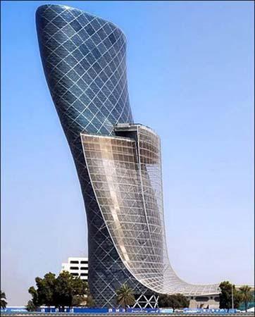 CapitalGatebuilding,Dubai,UAE(PhotoSource:gb.cri.cn)