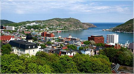 A walk along the waterfront of St Johns Newfoundland is rewarding as you discover the history of St John's since its discovery in 1497.