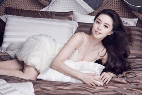 Chinese actress Fan Bingbing in new ads.(CRI online)