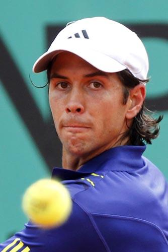 File photo of Fernando Verdasco(Xinhua/Reuters File Photo)