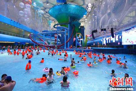 In 2009, more than 150 activities were held at the Water Cube, attracting over five million visitors from throughout the world.