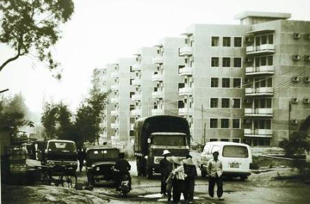 The earliest apartments in Shenzhen. (Photo: forum. xinhuanet.com)