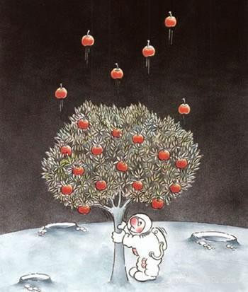 等苹果树长成参天大树的时候,那些曾阻碍它成长的力量都会微弱到可以