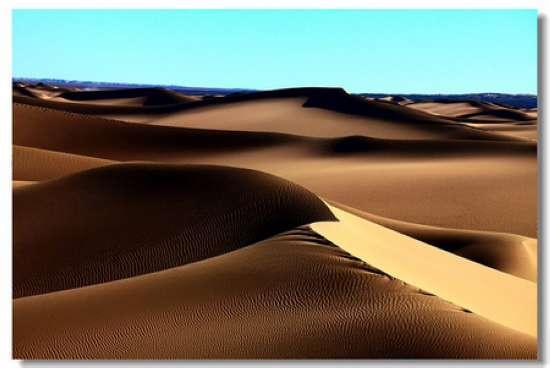 1,塔克拉玛干沙漠