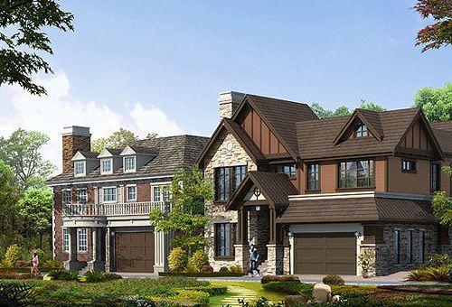 温哥华森林北郡,天生丽质的别墅美人图片