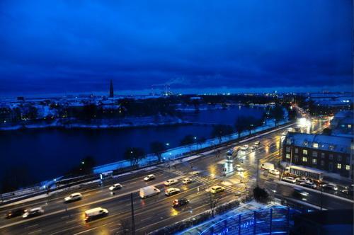 哥本哈根夜景