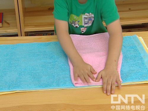 你太棒了叠毛巾