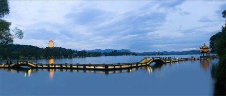 西湖风景图片最美