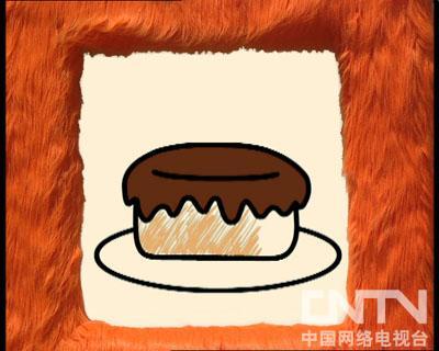 当当时间画蛋糕
