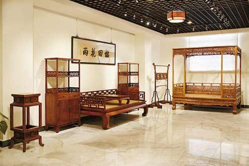 这些精雕细琢的古典红木家具