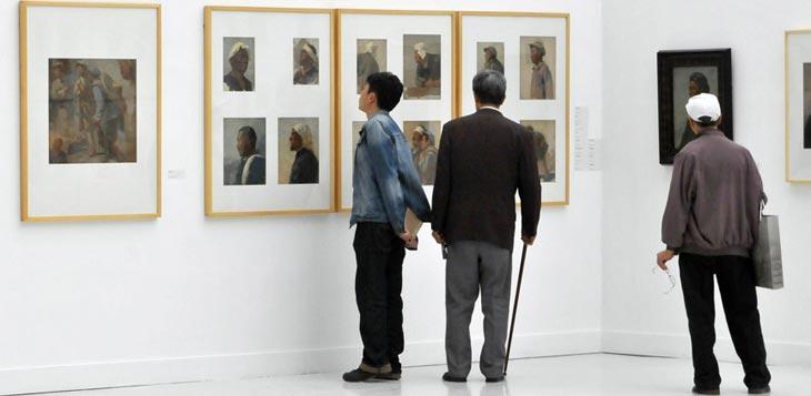 从延安到北京:王式廓作品展