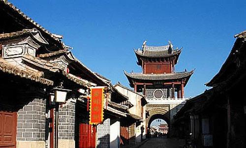 【原创】七律 天地人物(一三八三)中国历史文化名街之巍山县南诏古街 - 阿海 - 阿海