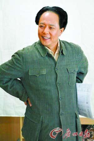 张铁林扮演的毛泽东