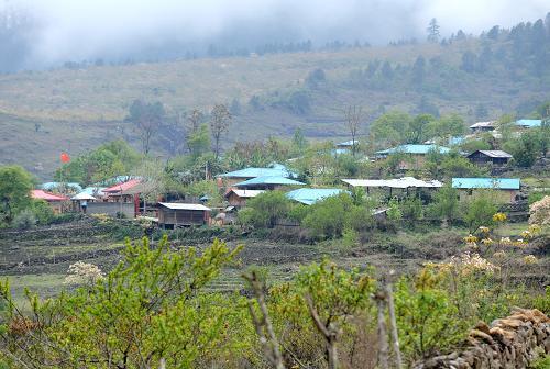 这是西藏察隅县下察隅镇沙琼村