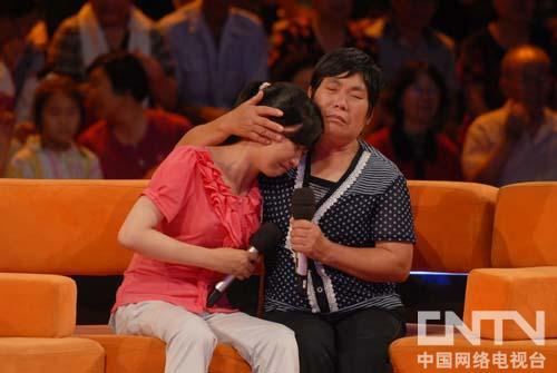 王洪英感谢妈妈