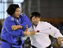Universiade Shenzhen : la première médialle d´or de la Chine obtenue par une joueuse de judo