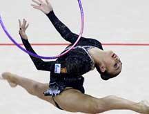 Universiade d´été : Evgeniya Kanaeva remporte le concours général individuel de gymnastique rythmique