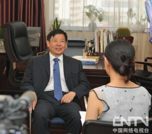 《环球同此凉热》摄制组采访财政部副部长朱光耀