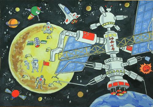 我要做一名宇航员