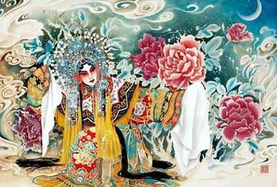 国内著名青年漫画家林莹主笔创作的《梅兰芳漫画版》