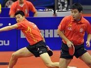 Мужская сборная Китая вновь завоевала командный кубок мира по пинг- понгу