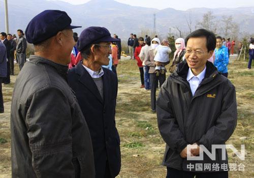 央视记者赴青海大通采访调研农村基层文化建设情况