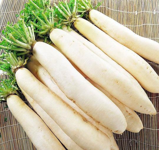 冬季煲汤食物之白萝卜图 粤语台