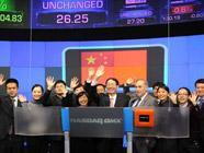 """Генконсул КНР в Нью-Йорке позвонил в колокол, открывающий торги на фондовой бирже """"Насдак"""""""