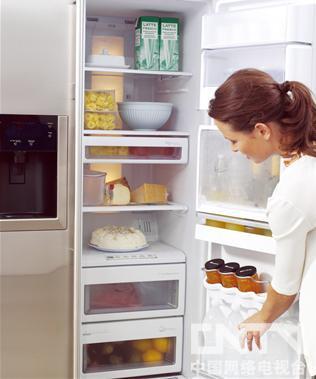 电冰箱储存食物的注意事项