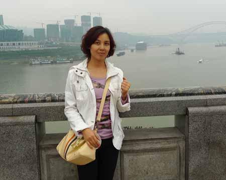 飞过哈尔滨厦门,第三站到重庆,加油!编导唐中柳