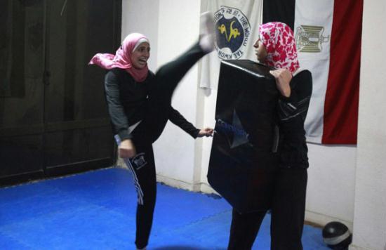 Self defense classes in cairo