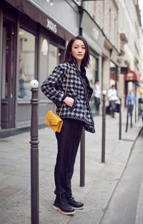 Chanel中国女郎 周迅 VOGUE TV 时尚台